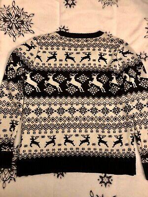 Unisex Mens Ugly Christmas Sweater Xmas Jumper Sweatshirt Pullover Casual Hoodie