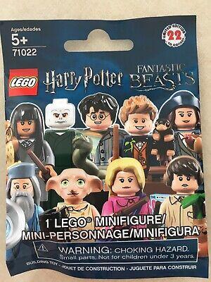 Lego Harry Potter Minifigures 71022 Percival Graves SEALED