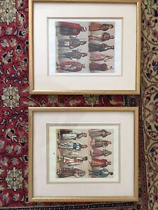 Two framed Turkish pictures Mosman Mosman Area Preview