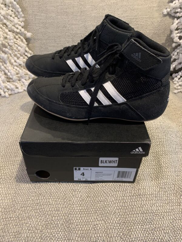 Adidas Hvc 2 Youth Wrestling Shoes 4 (AQ3327)