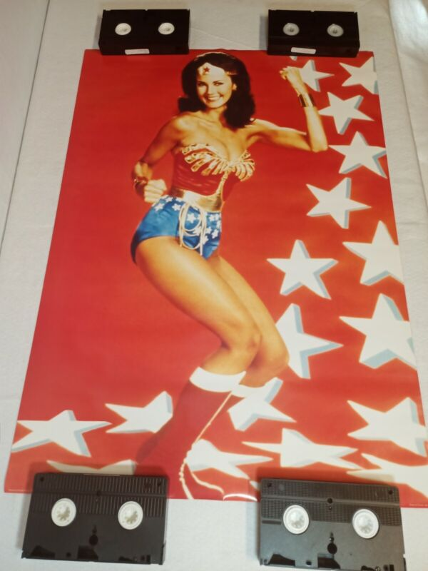 RARE Wonder Woman Lynda Carter Vintage Poster 24 x 33.5 NEW