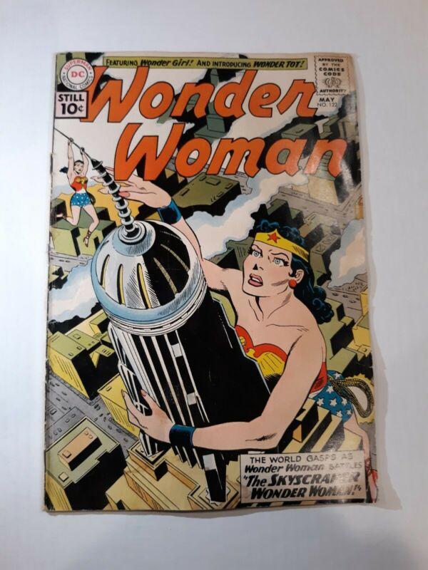 Wonder Woman 122 May 1961  First Appearance Wonder Tot!