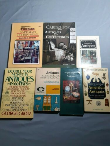 Lot 7 Books on Antiques, Pricing Refinishing Collectibles Guides How to Know.
