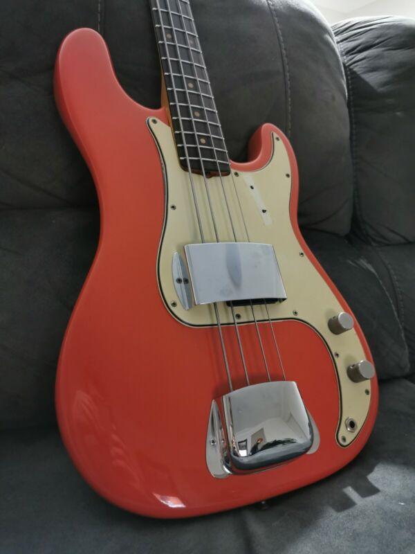 1964 Fender Precision Bass FIESTA RED pre-cbs p-bass