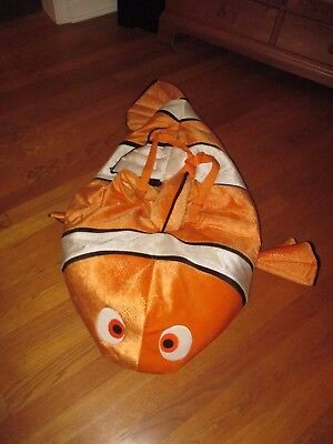 Disney Store Finding Nemo 3D Plush Halloween Costume Size XS 4-5 - Find Halloween Costume