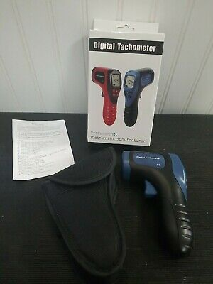 Digital Handheld Lcd Photo Laser Tachometer Rpm Meter Non-contact Tach Tool