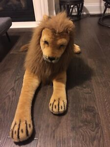 African Lion Stuffed Animal toy