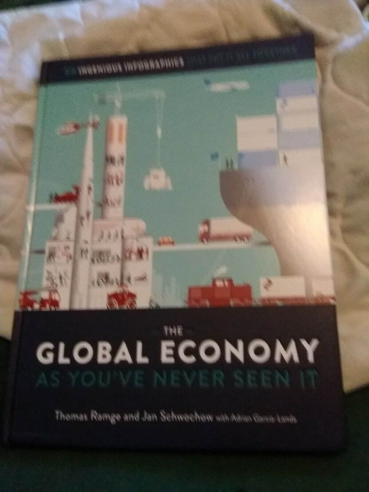The Global Economy As You Have Never Seen It Oversize Text  - $6.75
