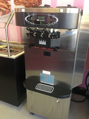 Taylor C723-33 Frozen Yogurt Soft Serve Ice Cream Machine-air Cooled 3phase