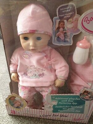 Zapf Creation 794326 - My First Baby Annabell I Care for You Doll Brand NEW
