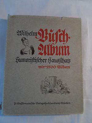 Wilhelm Busch-Album Humoristischer Hausschatz mit 1500 Bildern Ausgabe 1942
