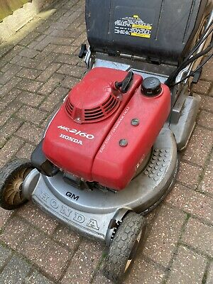 Honda HR2160 Self Propelled Petrol Lawn Mower Roller Electric Start