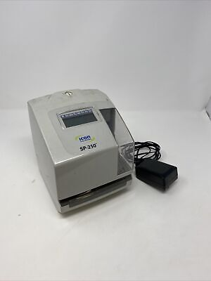 Icon Sp-250 Electronic Time And Date Stamp Tested And Working