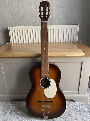 Vintage 1950's Kansas Acoustic 6 string guitar 3/4 Length