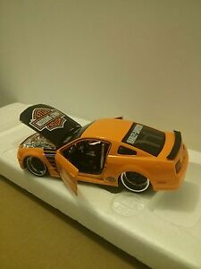 FORD MUSTANG DIECAST CAR HARLEY DAVIDSON Windsor Region Ontario image 2