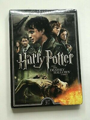 SEALED! Harry Potter and the Deathly Hallows Part 2 DVD - 2 Disc Special