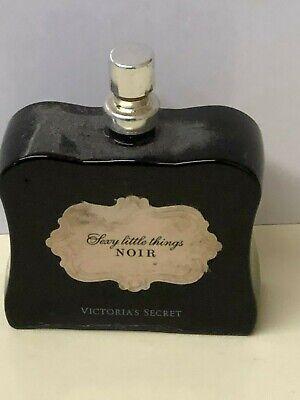VICTORIA'S SECRET SEXY LITTLE THINGS NOIR -0.85 OZ/25 ML EDP SPRAY-ROUGH (Noir Edp Spray)