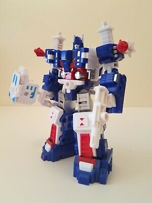 Mech Fans Toy MFT-08 Ultra Magnus Action Figure Silver Thigh Version