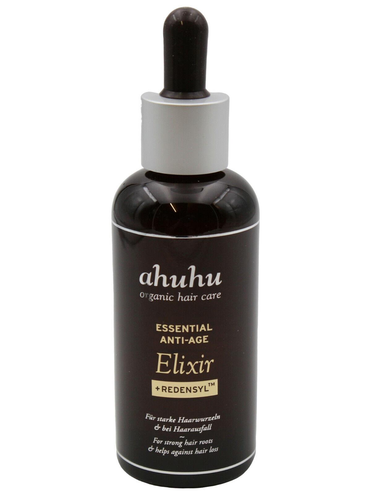 ahuhu organic hair care Essential AntiAge Elixir mit