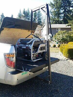 Portable Steel Hitch Receiver Crane 600 LB. pickup mounted deer lift jib USA for sale  Redmond