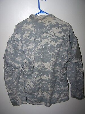 US Army 82 ABN Combat Zip JACKET Shirt Digital Uniform M Long OIF Military Issue