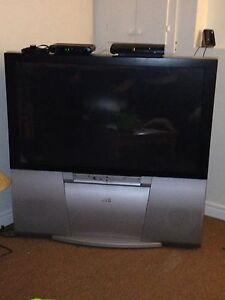 Floor model tv