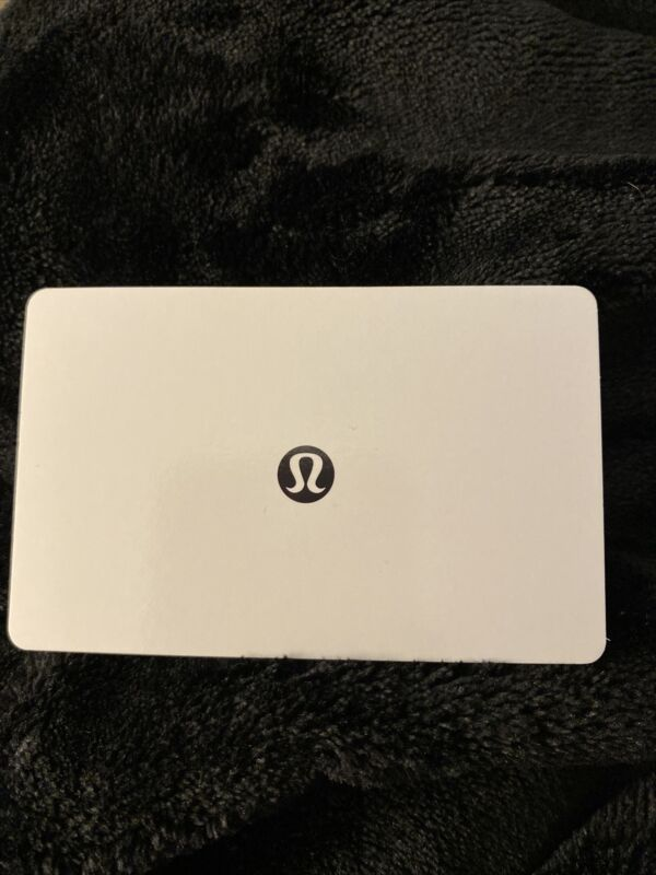 Lululemon Gift Card ❤️ $221.45.  Great Buy/will only ship‼️