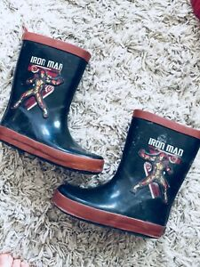 IRON MAN RUBBER BOOTS!!