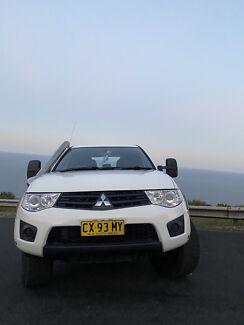 2014 Mitsubishi Triton Glx (4x4) 5 Sp Manual 4x4 Double C/chas Otford Wollongong Area Preview
