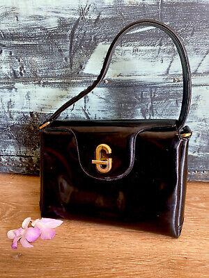 Authentic Gucci Vintage Patent Flap Shoulder BagSuper Rare