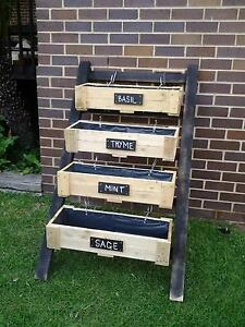 Wood Planter & Herb Boxes and more. All made from recycled timber Queanbeyan Queanbeyan Area Preview