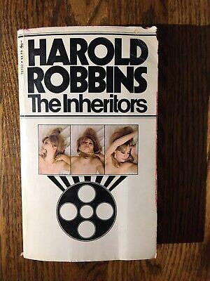 THE INHERITORS  by Harold Robbins vintage 1971 Pocket Books paperback (Harold Robbins Best Sellers)