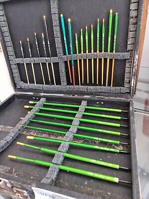 Vintage dave harrell stick floats collection fishing tackle x23