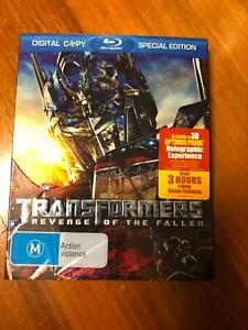 Transformers Revenge of the Fallen Blu-Ray Special Edition
