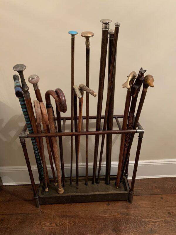 umbrella stand cane holder