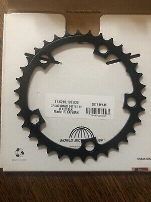 44t 24t 22t Available Details about  /NEW IN PACKAGE Dimension Multi Speed Chainrings Black