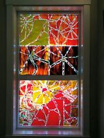 Broken is Beautiful~Colored Glass Designs