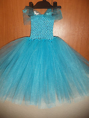 2015 Cinderella Inspired Tutu Princess Party Fancy Butterfly Dress Costume