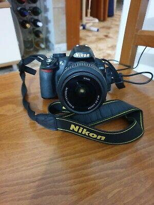 Nikon D3100 Fotocamera Reflex Digitale obiettivo DX 18-55 PERFETTA COME NUOVA