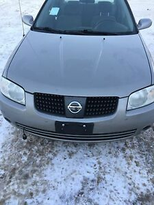 2005 Nissan Sentra newly safetied