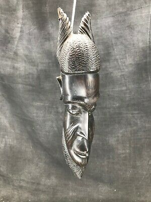 Small And Antique Mask African Wooden Precious Africa Etnique