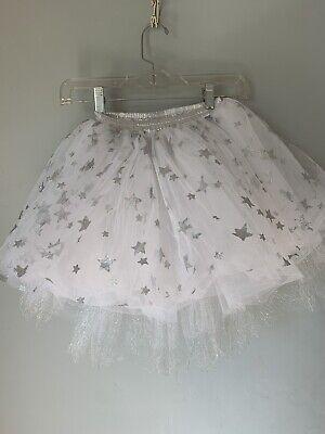 Pottery Barn Kids Ballerina Dress-Up  Silver Star Tutu, Size 3-6 years