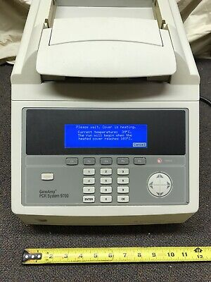 Geneamp Pcr System 9700 Perkin Elmer Applied Biosystems- University Lab Surplus