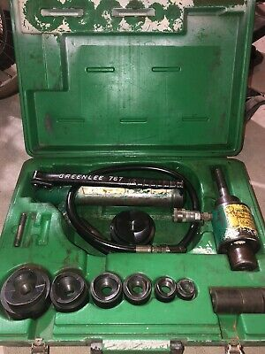 Greenlee 767 12 - 2.5 Slug-buster Ram And Hand Pump Hydraulic Driver Kit