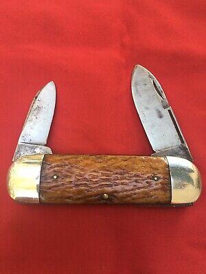 Vintage Wilbert Elephant Toenail pocket knife