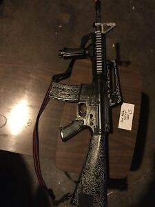 Semi-automatic airsoft rifle (needs to be fixed) OBO
