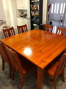 Large Square 8-seater Dining Table Wishart Brisbane South East Preview