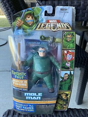 Hasbro Marvel Legends MOLE MAN Fantastic Four Ronan the Accuser BAF 2007 Series1