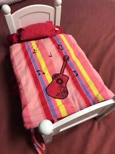 Maplelea Bed with Leonie's Harmony Bedding