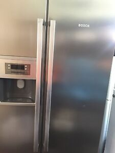 Fridge freezer side by side Bosch 603L ice Mirrabooka Stirling Area Preview